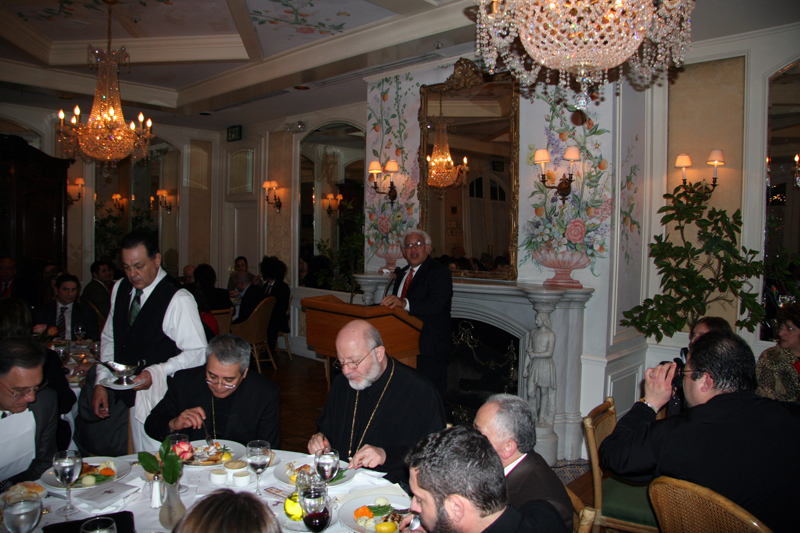 You are browsing images from the article: The Order of St. Ignatious Dinner LA